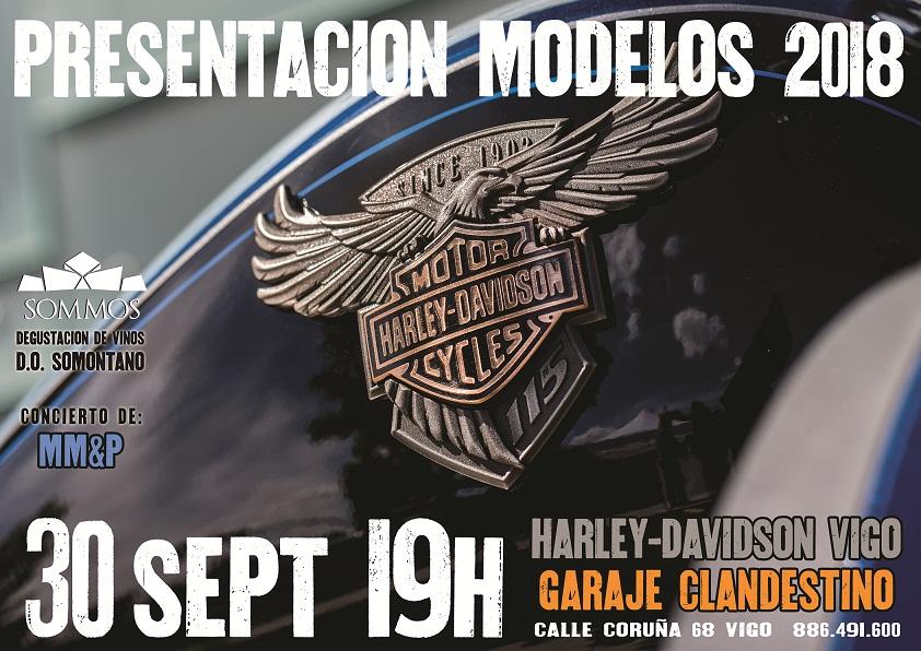 Fiesta de presentación de los nuevos modelos Harley Davidson