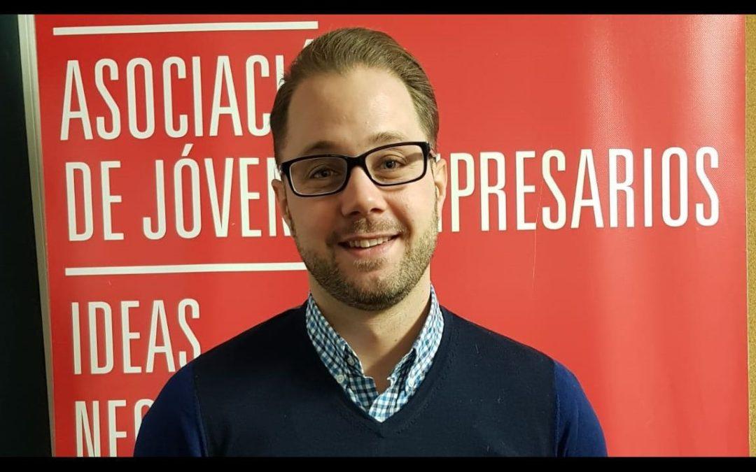 Iván Suárez nuevo Presidente de AJE Vigo