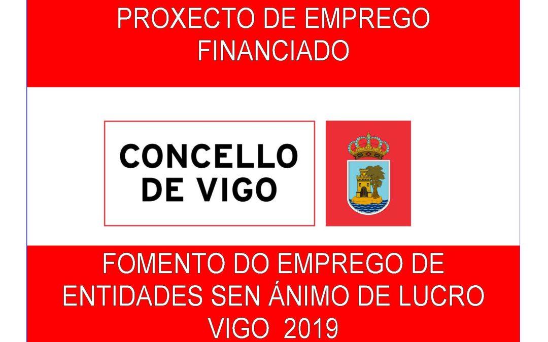 Oferta de empleo para AJE Vigo