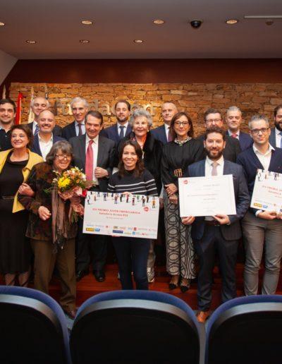 Gala anual con el premio al joven empresario o empresaria